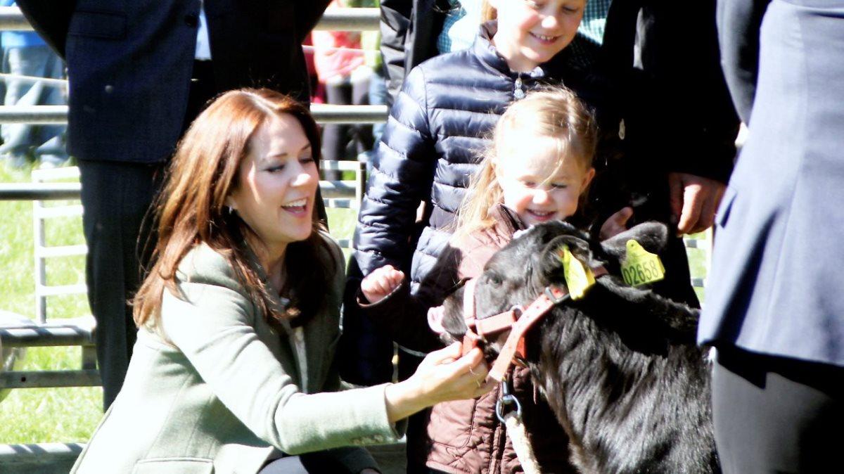 Mary besøger Roskilde Dyrskue