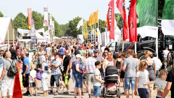 Roskilde Dyrskue har de seneste ti år haft et gennemsnit på 88.533 besøgende.