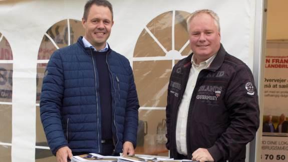 Ejendomsmæglervirksomheden John Frandsen har startet en ny afdeling i Aalborg, som skal dække hele Nordjylland, nu er de med på skuet i Hjørring for første gang.