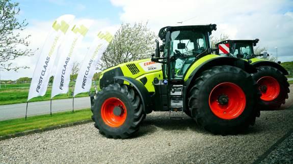 Så er tiden kommet, hvor Danish Agro Machinery og Claas, har åbnet for korttidsleje af Claas-traktorer i Danmark.