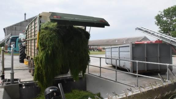 Over 250 gæster var til stede, da Aarhus Universitet i Foulum startede deres nye bioraffineringsanlæg. Det kan raffinere græs i fuld skala og gøre landbrugets grønne profil skarpere på sigt.