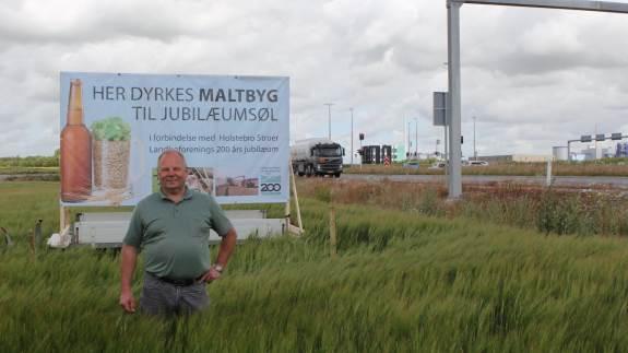 Holstebro Struer Landboforening er i fuld gang med forberedelserne til 200 års jubilæum i 2020. En af ingredienserne er marken ved Struer Landevej, der skal give både jubilæumsøl og helstegt pattegris til fejringen.