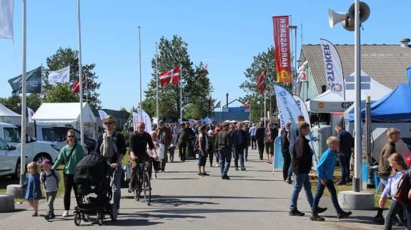 Lunefuldt dansk sommervejr afholdt ikke publikum fra at besøge Landsskuet i Herning