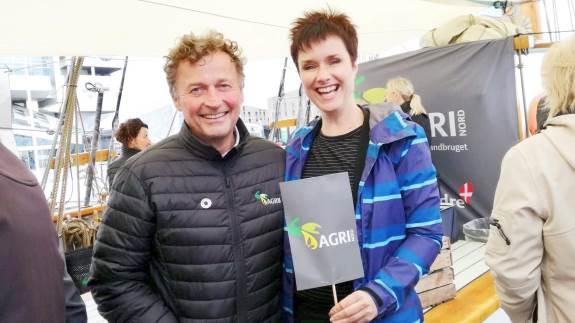 Agri Nords tiltag ved The Tall Ships Races i Aalborg blev positivt modtaget af både forbrugere, landmænd og politikere.