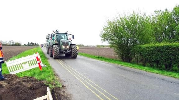 Resultaterne fra en test af seks tunge køretøjers påvirkning af kommuneveje ligger nu klar.