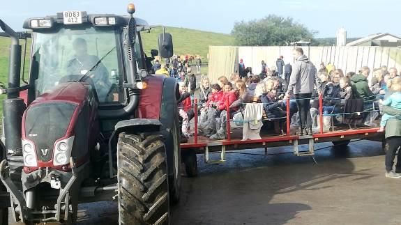 På landsplan lagde omkring 85.000 gæster vejen forbi det landsdækkende åbent landbrug. To af de over 60 besøgsværter fandt man i Søften nær Hinnerup i Østjylland samt ved Spjald i Vestjylland.