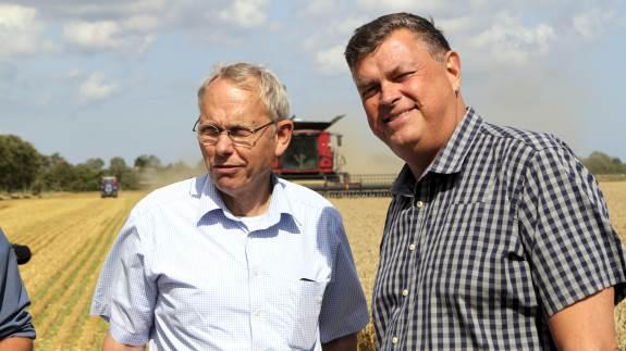 Fødevareminister Mogens Jensen (S) oplevede positive takter fra store EU-spillere, da han fremlagde det danske bud på en grønnere fælles landbrugspolitik i Helsinki.