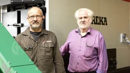Reka overtog lokalerne i Aars for 40 år siden med henblik på at producere minidozere. Det kom de aldrig til, men er i dag en af landets førerende producenter af biomasseanlæg.