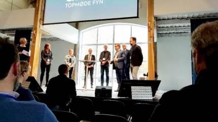 Fokus på fremtidens grønne omstilling på Fyn ved stormøde på Lundsgaard Gods.