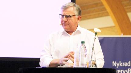 Selvom der bliver flere og flere planteprodukter at konkurrere med, spår Poul Pedersen, Thise Mejeri, stadig en lys fremtid for mælken.