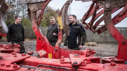 En driftsleders jobskifte gav anstødet til, at Agrovest droppede konventionelt landbrug. Omlægningen er gået godt, fortæller medejer af det økologiske planteavlsselskab, Ulrik Olsen.
