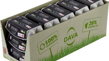 Dava Foods har en vision om at producere et CO2-neutralt æg. Vejen derhen er mange små delmål, blandt andet æggebakker af græs.