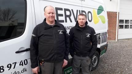 Spalterilleafdelingen i Servido – Himmerlands Vikarservice - kører nu med to servicebiler og har ansat en ekstra medarbejder.