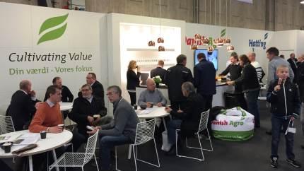 På Danish Agro koncernens stand vil der være fokus på, hvordan en tæt faglig dialog mellem landmænd og specialister kan skabe resultater på bedriften.