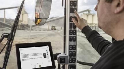 Den nye Operator Coaching-app tilbydes Volvo Co-Pilot-grænsefladen.