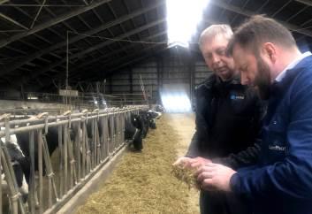 Mælkeproducent Jørgen Bertelsen har vendt skidt til godt ved justeringer af foder og fokus på reproduktion. I 2019 steg mælkeydelsen med 800 kg mælk, endda med lidt færre køer.