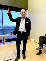 Svineproducenterne har ikke tid til at hvile på laurbærrene. Det er nu, der skal knokles, påpeger økonomirådgiver Finn Skotte før årsmødet i Sorø.