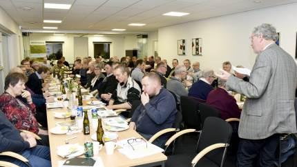 Efter tørken i 2018 blev 2019 et af de vådeste år nogensinde, fastslog Fyns Familielandbrugs formand på LRS's planteavlsaften i Svendborg.
