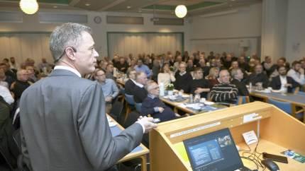 Den fynske grovvareafdeling er forbillede for DLG's nye landsdækkende struktur.