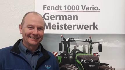 Karsten Nielsen, som ejer maskinforretningen Sumas lidt syd for Aalborg, har taget en dyb indånding og opsagt sin Deutz-Fahr forhandling. I stedet for har han indledt et samarbejde med Fendt-specialisten TBS Maskinpower, som lejer sig ind hos Sumas og starter afdelingen TBS-Suldrup.
