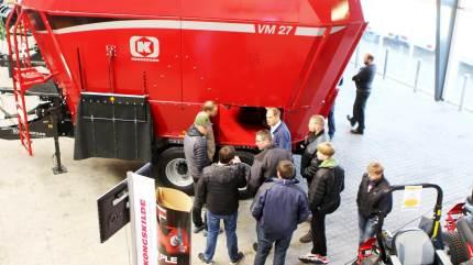 En ekstra fodervogn vil ofte kunne betale sig, vurderede Seges-konsulent Niels Bastian Kristensen til kvæg-inspirationsdag hos Anker Bjerre i Lemvig.
