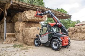 Scantruck spår stor interesse for den lille nye Manitou MLT420-60 H, der udelukkende er produceret til landbruget.