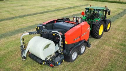 De velkendte græsmaskiner fra Kuhn tager nu på Danmarksturné. Her vil de demonstrere alt fra skårlægning til indpakning.