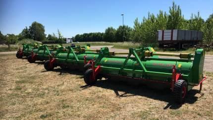 Mekaniske kartoffelaftoppere fra hollandske Baselier kan klare den udfordring, som kartoffelavlere har, efter udfasningen af Reglone til nedvisning.