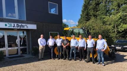 Maskinforretningen i Gudbjerg har fået forhandlingen af de velanskrevne engelske teleskoplæssere og gummigeder.