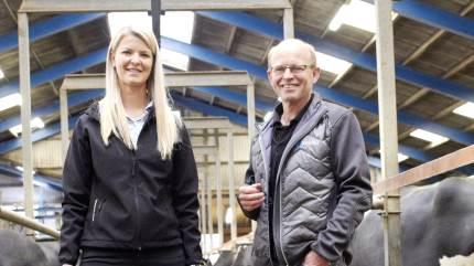 DLG Nordjylland er positivt overrasket over, at flere og flere mælkeproducenter vælger at sætte fokus på deres goldkøer, blandt andet med Easy X-Plus.