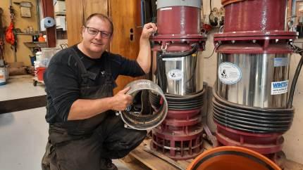 Virksomheden WINTEC i Brande har specialiseret sig indenfor pumper og pumpeløsninger i både bynære områder, så vel som i det åbne land.