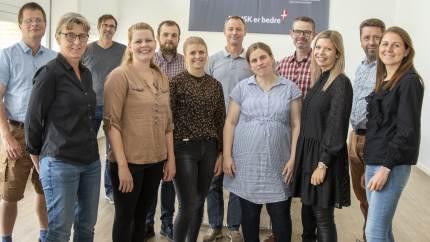 11 medarbejdere i Agri Nord kan nu kalde sig RISE-konsulenter og er klar til at varetage fremtidens rådgivning i klima og bæredygtighed.