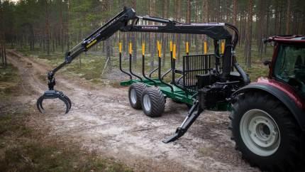 Den finske maskinproducentproducent Kronos er klar med nyeste versioner af sine skovkraner, der byder på flere optimeringer og forbedringer