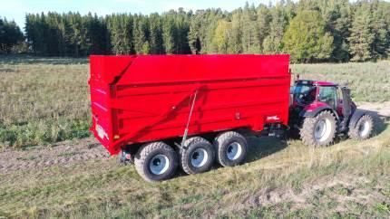 Svenske Metsjö lancerer ny transport-markvogn med 46 kubikmeter i kapacitet
