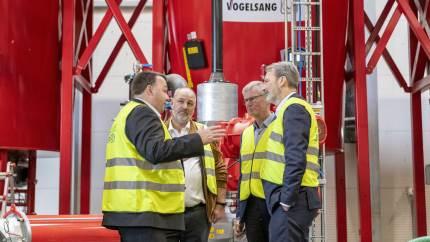 Forleden blev Nature Energys nye store biogasanlæg i sønderjyske Glansager officielt indviet. Det skal sende grøn CO2-neutral biogas ud på gasnettet og bidrage til Sønderborg Kommunes grønne omstilling.