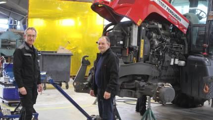 Selvom medarbejdere, maskiner og ydervægge er de samme som de sidste mange år hos maskinforretningen i Støvring, er der sket mange forandringer, siden man åbnede under Brdr. Thorsen 1. maj.
