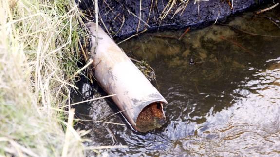 Gamle drænrør – ikke nødvendigvis manglende eller forkert dræning – kan være skyld i oversvømmede marker.