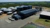 Vinkel Bioenergi ved Skive er et af de nyeste og største projekter, der står færdig fra Lundsby Biogas' hånd. Anlægget kan håndtere op til 400.000 tons biomasse om året. Foto: Lundsby Biogas