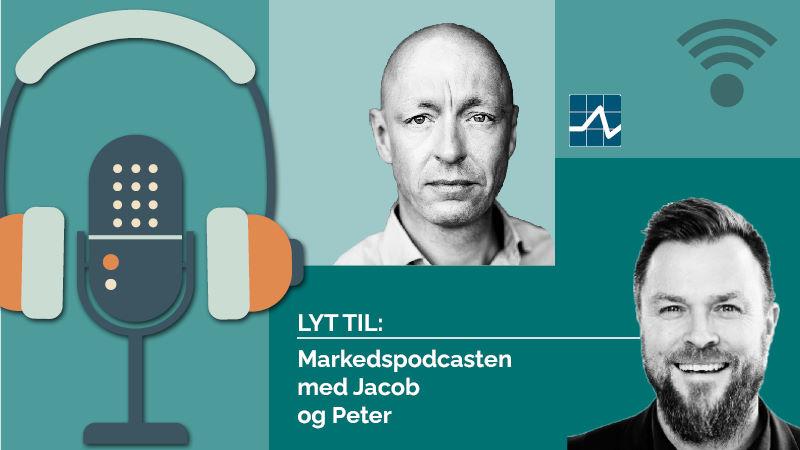 Markedspodcasten med Peter og Jacob.