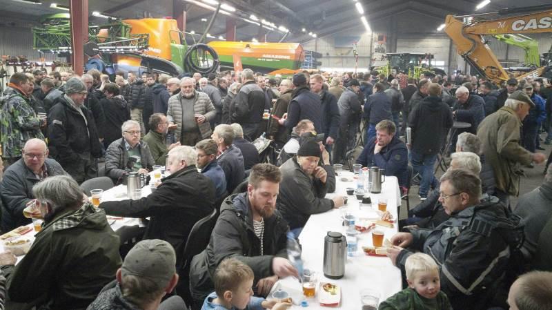 Ikke mindre end 1.600 landmænd og entreprenører besøgte åbent hus-arrangementet den 2. februar i Ringe Maskinforretning.