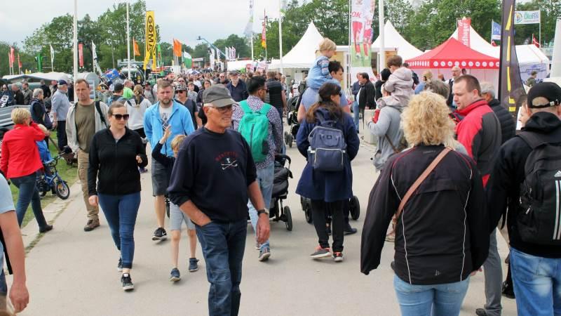 Med hele 113.017 besøgende blev der sat publikumsrekord på Roskilde Dyrskue. Foto: Jesper Hallgren