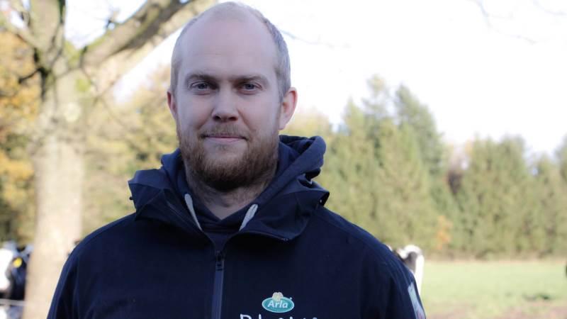 Christian Bejer Petersen har arbejdet i halvandet år i Chile og fandt sin kone der, som fandt arbejde i Aalborg som ingeniør i vindmøllebranchen, hvor familien boede i 7-8 år, hvor han var fodermester og tog en uddannelse som produktionsleder og virksomhedsleder på Nordjyllands Landbrugsskole, Lundbæk. Fotos: Flemming Erhard