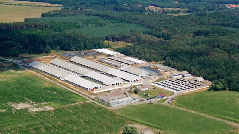 FirstFarms driver store landbrug i Østeuropa. Her ses koncernens bedrift i Slovakiet.