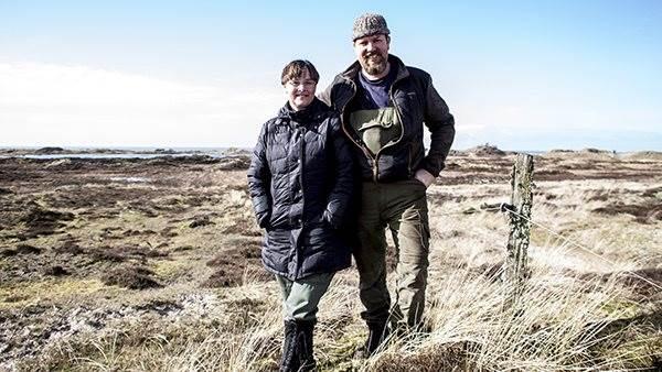 Bente Villadsen og Michael Baun på Fanø oppebærer halvdelen af deres indkomst fra målrettede tilskud til naturpleje fra EU's landbrugsstøtte og fra Landdistriktsfonden, som EU og statskassen deler finansieringen af.
