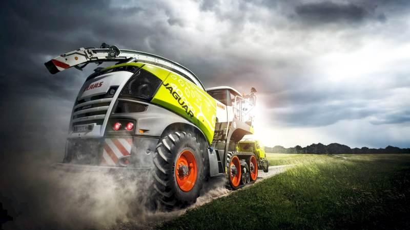 I sidste uge blev 106 traktorer sendt afsted fra Le Mans til forhandlere og kunder. I Harsewinkel kører levering af maskiner på fuldt tryk, og for eksempel kan Claas meddele, at der leveres 20-35 Lexion mejetærskere og 15-20 Jaguar finsnittere om dagen.