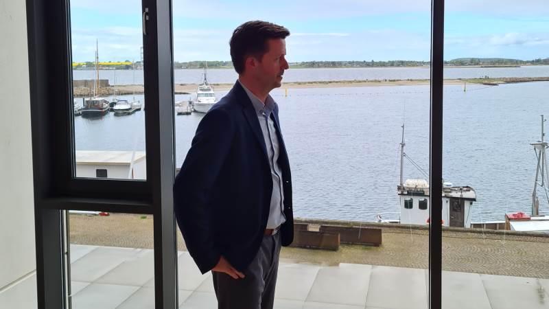 Hos Sparkassen Sjælland-Fyn har landbrugschef Peter Jørgensen det lange blik for fremtiden. Og den ser ganske fornuftid ud set med landbrugsbriller, mener han.