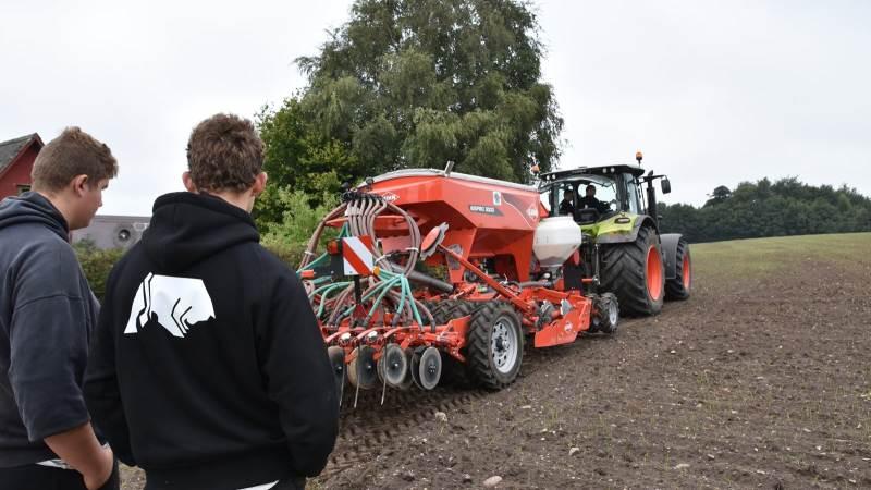 Der er stigende interesse for den nye 10. klasse, som Dalum Landbrugsskole har udbudt i et års tid.