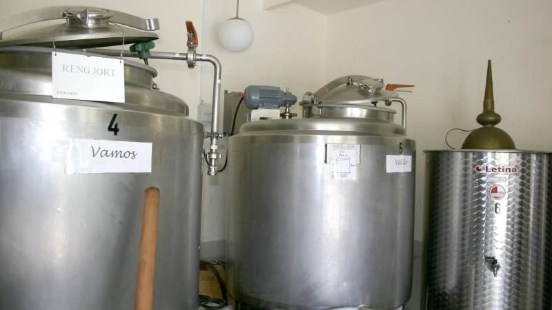 Skaarupøre Vingaard producerer 3.000 flasker vin om året og besøges af både danske og udenlandske gæster.