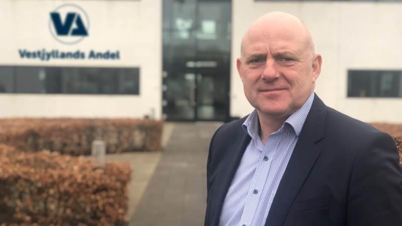 Direktør Steen Bitsch er godt tilfreds med udviklingen hos Vestjyllands Andel, der bød på et overskud på 87 millioner kroner. Nu lægger foderstofselskabet op til at udlodde 50 millioner kroner blandt medlemmerne.