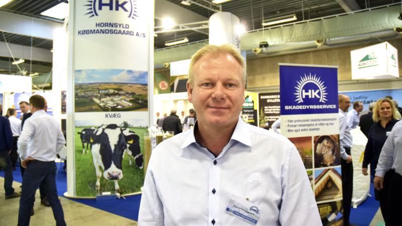 Salgsdirektør Henrik Hedegaard skal være med til at stå i spidsen for Hornsyld Købmandsgaard i den kommende tid. Arkivfoto
